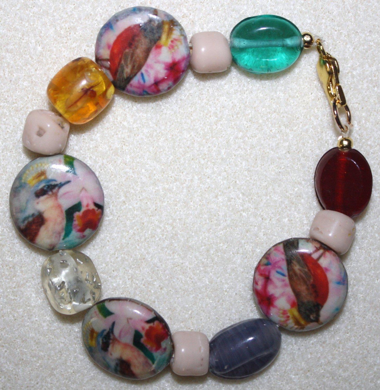 Wings and Petals Bracelet - Item #B23