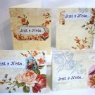 Victorian Floral Notecard Set - Item #NCS9