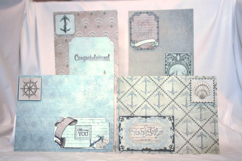Beach-Themed Notecard Set - Item #NCS14