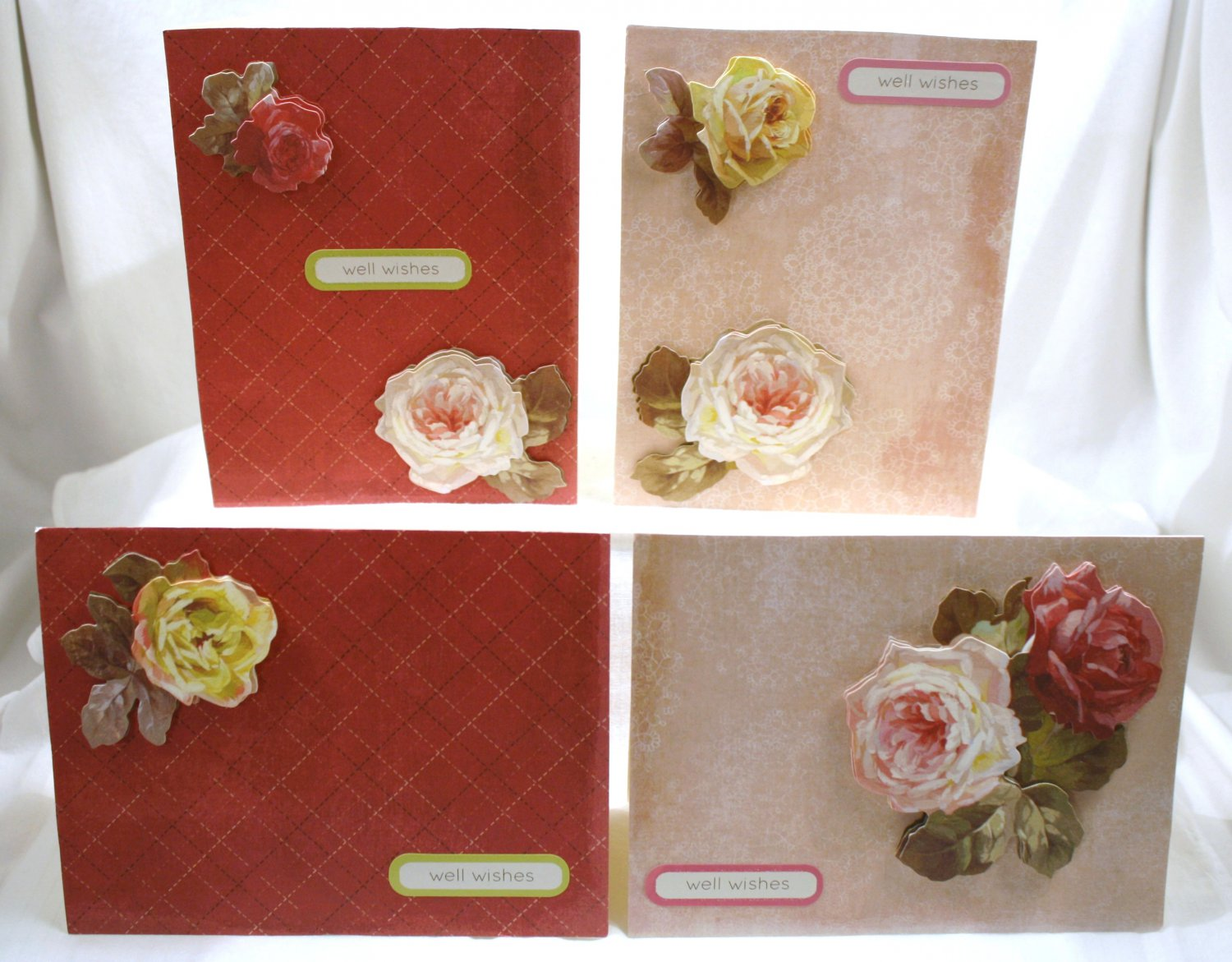 Victorian Rose Notecard Set - Item #NCS15