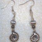 Mollusk Charm Earrings - Item #E135