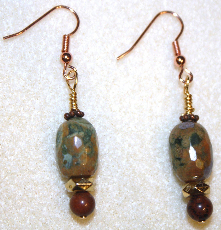 Colors of the Rainforest Earrings - Item #E171