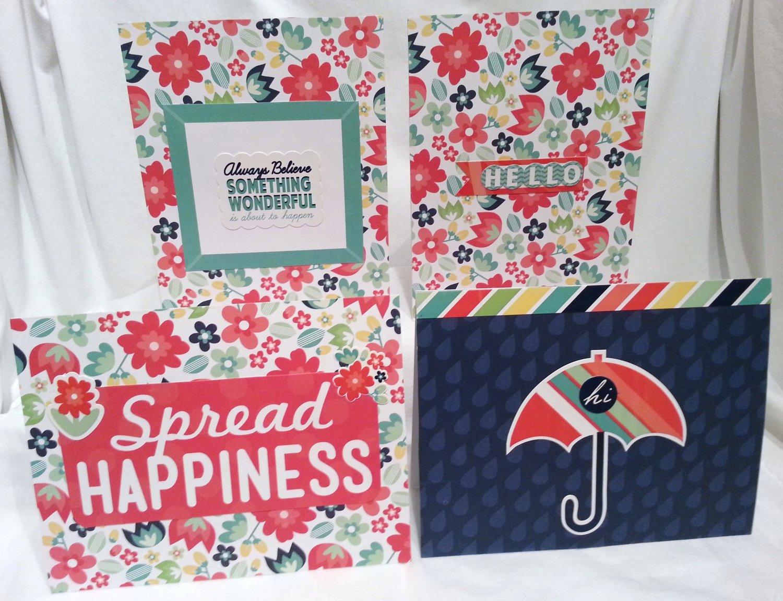 Rainy & Sunny Day Notecard Set - Item #NCS27