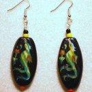 Bird of Paradise Earrings - Item #E284