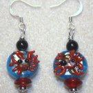 Happy Crab Earrings - Item #E329