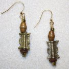 Baule Brass Earrings - Item #E339
