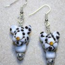 Friendly Leopard Earrings - Item #E379