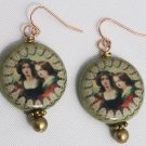 Vintage Mother N' Daughter Earrings - Item #E401