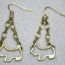 Yorkie Outline Earrings - Item #E403