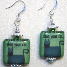 Coolest Cat Earrings - Item #E409