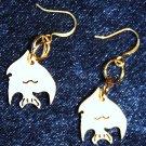 Balsa Angelfish Earrings - Item #E429