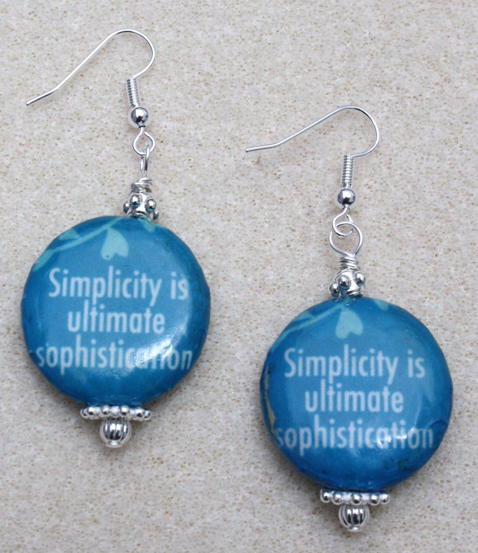 Simplicity Earrings - Item #E422