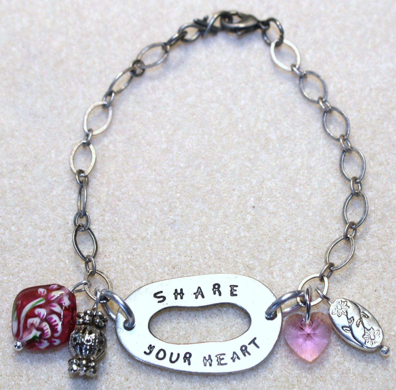 """""""Share Your Heart"""" Bracelet - Item #B69"""