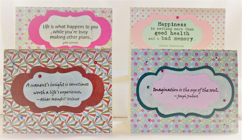 """""""Wise Sayings"""" Notecard Set - Item #NCS49"""