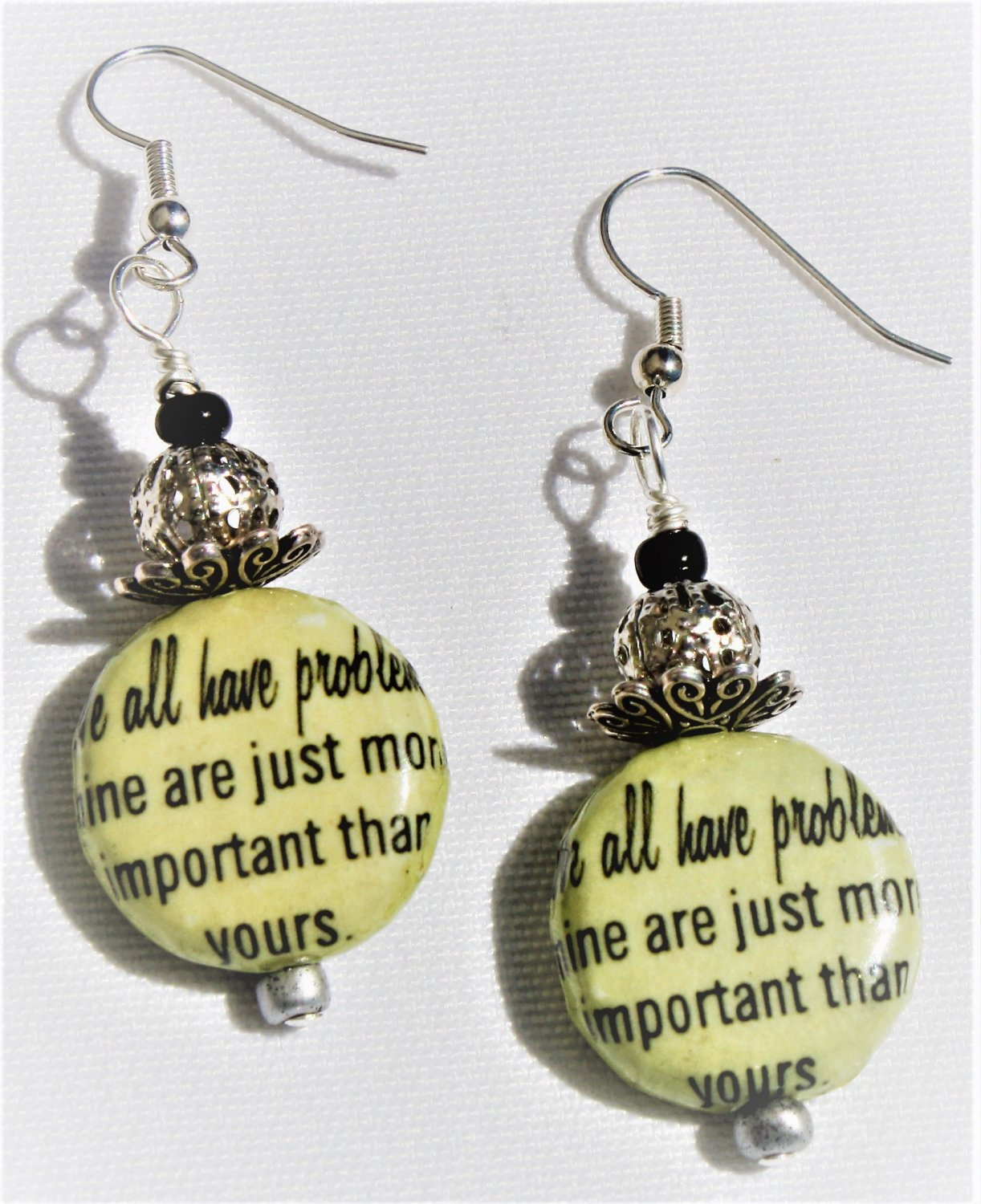 """""""We All Have Problems"""" Earrings - Item #E515"""