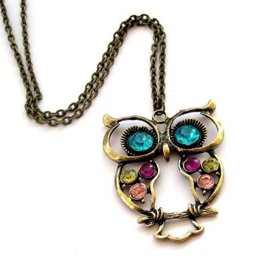 Beautiful Owl Necklace