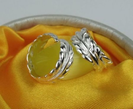 Wing Design Ring- .925 Sterling Silver