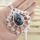 Necklace Fancy Moonstone Gemstone .925 Sterling Silver