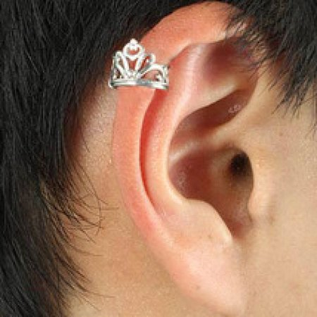 Ear Wrap .925 Sterling Silver - Imperial Queen's Crown