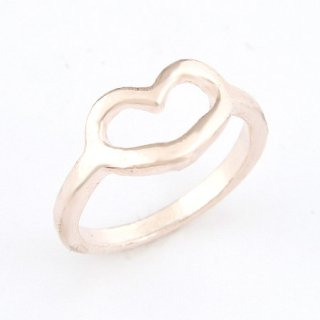 Heart  Ring - 9k Gold Filled