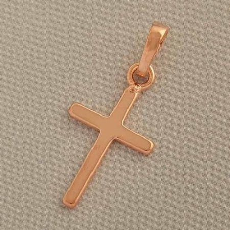 Charm - Pendant - 18k Gold Filled - Cross - Unisex