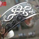 German Silver Bracelet. Design: Friendly Sign #19