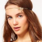 Dragonfly W/ Crystals Head Chain - Headband - Head Piece