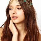 Head Chain - Headband - Head Piece - Gold