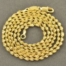 "24"" 9K Gold Filled Wave Chain / Necklace"