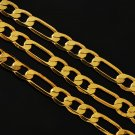 "24"" Unisex Yellow 14k Gold Filled Link Chain"