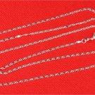 "21"" Italian .925 Sterling Silver Flat Wave Chain"