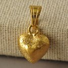 9k Yellow Gold Filled Heart Pendant