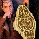 The Hobbit Lord of Unexpected Journey Elrond Council Ring