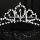 Tiara Wedding Clear Crystals / Prom / Home Coming Headwear Crown