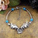 Western - Rodeo Gem, Bead & Silver Bracelets