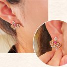 Crown Of A Queen 9K Yellow Gold Filled AAA CZ Ear Bud
