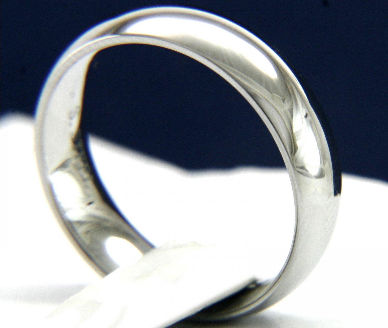 Silver Highly Polish Wedding Band -  Classic Ring