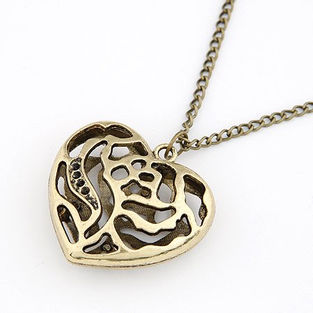 Love Heart Catchers Necklace Collection -Bronze