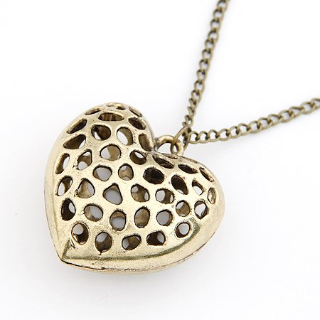 Loving Heart Catchers Necklace Collection -Bronze
