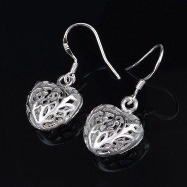 Elegant & Cute Fashion .925 Sterling Silver Dangle Earrings
