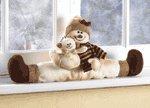 Snowman Window Ornament
