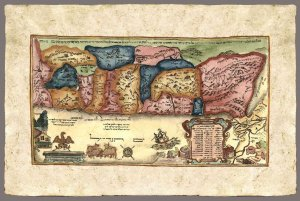 "The 12 Tribes From ""The Amsterdam Hagadah? by Abraham Ben Jacob, 1695"