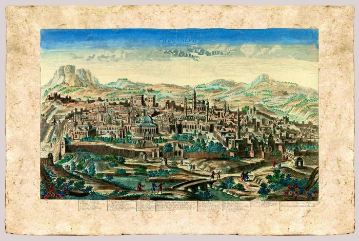 ?Jerusalem today? by Jean Francois Daumont, 1780