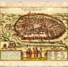 Jerusalem the Holy City by Franz Hogenberg, 1657