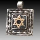 Magen David 2 Sided Pendant for Protection #30890
