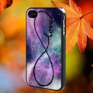 GALAXY INFINITY LOVE for iPhone 4/4S,5,5c,5s & samsung galaxy S3,S4,S5 Case Hard Plastic Cover