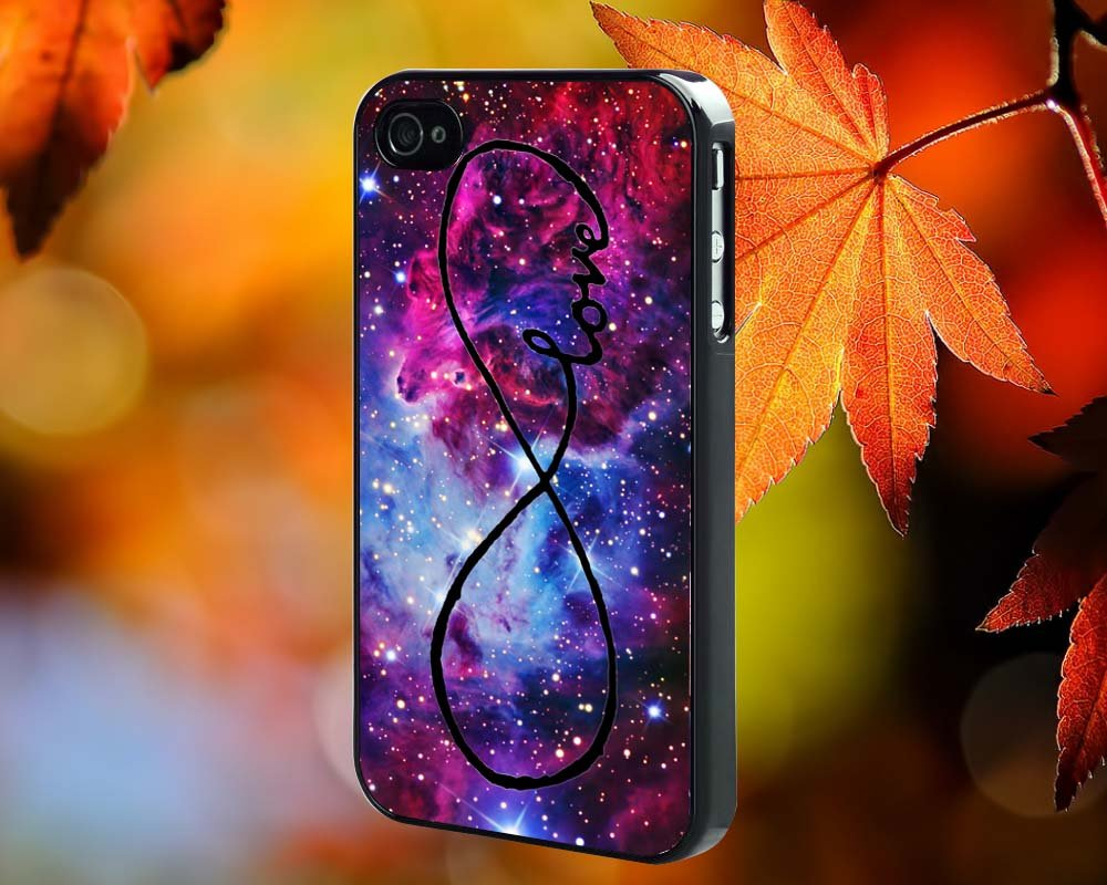 GALAXY INFINTY LOVE CUSTOM for iPhone 4/4S,5,5c,5s & samsung galaxy S3,S4,S5 Case Hard Plastic Cover