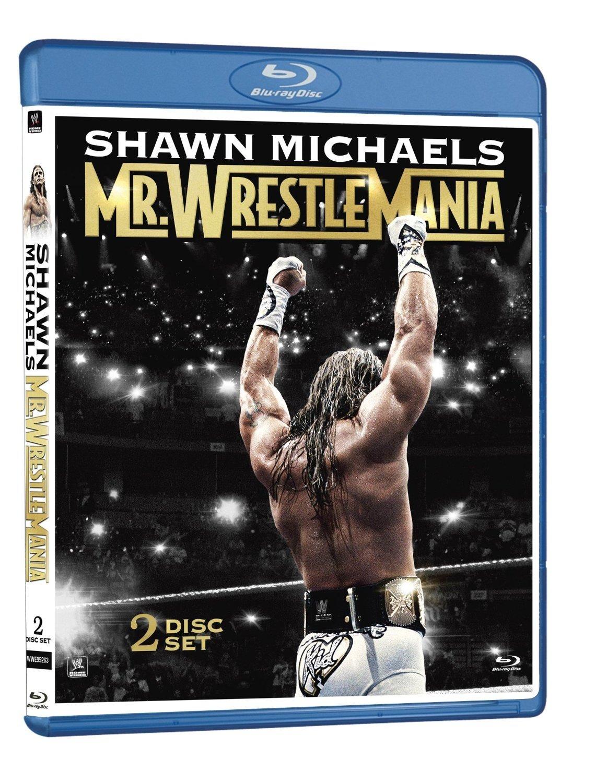 WWE: Shawn Michaels: Mr. Wrestlemania Blu-Ray- Brand New