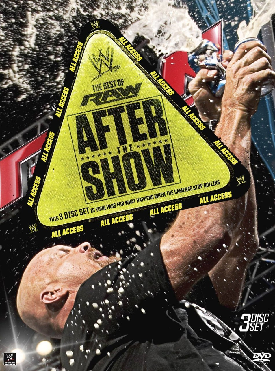 WWE Best of Raw After the Show DVD - Brand New