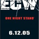 ECW - One Night Stand 2005 DVD - Like New (used)